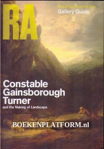 Constable, Gainsborough, Turner