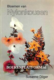 Bloemen van nylonkousen