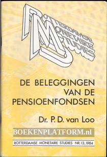 De beleggingen van de pensioenfondsen