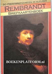 Rembrandt briefkaartenboek