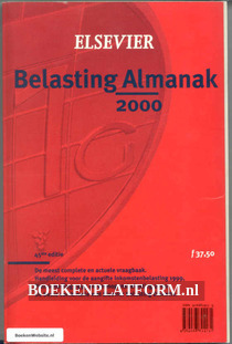 Belasting Almanak 2000