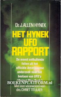 Het Hynek UFO rapport