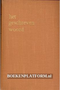 Het geschreven woord