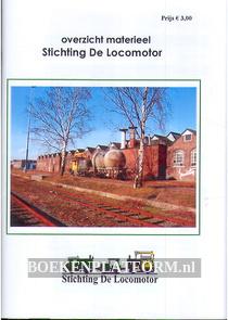 Overzicht materieel Stichting De Locomotor
