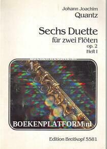 Sechs Duette fur zwei Floten op