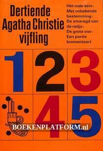 Dertiende Agatha Christie vijfling