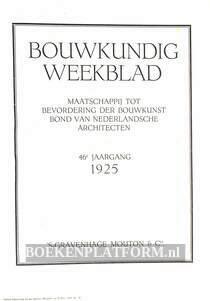 Bouwkundig Weekblad 1925