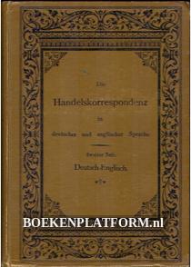 Die Handels-korrespondenz Deutsch-Englisch