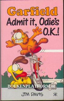 Garfield Admit it, Odies O.K..!