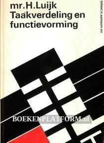 Taakverdeling en functievorming