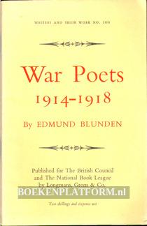 War Poets 1914-1918