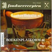 30 Fondue- recepten
