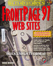 Build your own Frontpage 97 Websites