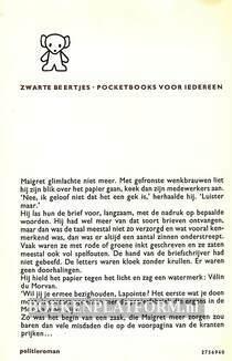 1200 Maigret aarzelt