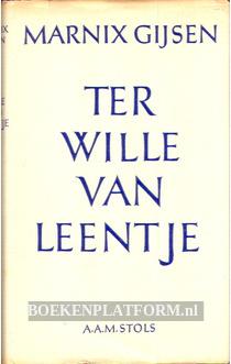 Ter wille van Leentje