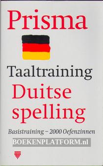 Taaltraining Duitse spelling