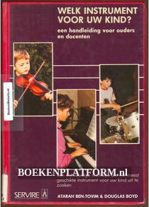 Welk instrument voor uw kind?