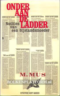 Onder aan de ladder