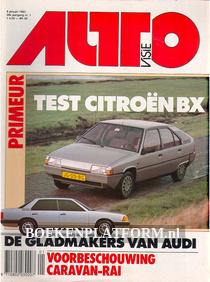 Autovisie 1983 Complete jaargang