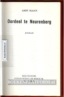 Oordeel te Neurenberg