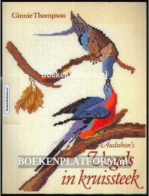 Audubon's Vogels in kruissteek