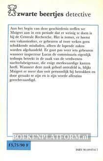 0741 De woede van Maigret