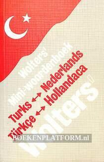 Wolters mini woordenboek Turks Nederlands