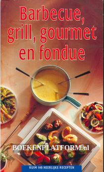 Barbecue, grill, gourmet en fondue