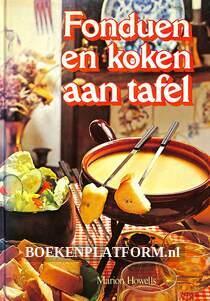 Fonduen en koken aan tafel