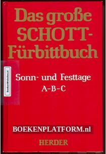 Das grosze Schott Furbittbuch