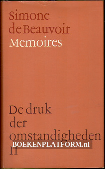 Simone de Beauvoir Memoires II