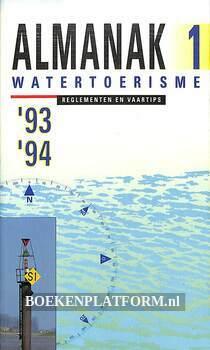 Almanak 1 watertoerisme '93 '94