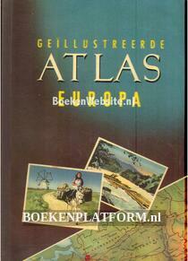 Geillustreerde atlas Europa