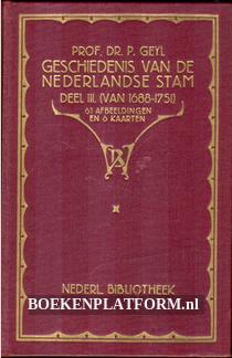 Geschiedenis van de Nederlandsche stam III