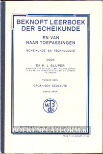 Beknopt leerboek der Scheikunde