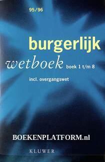 Burgerlijk wetboek boek 1 t/m 8