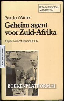 Geheim agent voor Zuid-Afrika