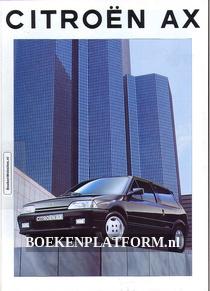 Citroen AX 1993 brochure