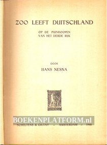 Zoo leeft Duitschland