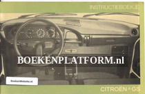 Citroen GS 1976 instructieboekje