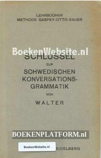 Schlüssel zur Schwedischen Konversations Grammatik