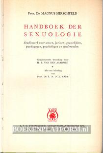 Handboek der Sexuologie