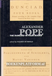 Alexander Pope The Dunciad in Four Books