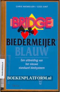Bridge, biedermeijer blauw