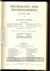 Neurology and Neurosurgery 1966