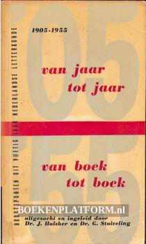 Van jaar tot jaar, van boek tot boek