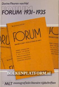 Forum 1931 - 1935