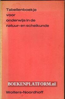 Tabellenboekje voor onderwijs in de natuur-en scheikunde