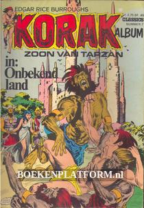 Korak zoon van Tarzan in 'Onbekend land'