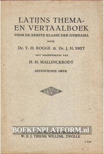 Latijns thema- en vertaalboek